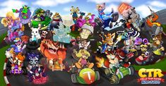 Crash Team Racing, Crash Bandicoot, God Of War, World Of Warcraft, Just Giving, American Artists, League Of Legends, Halloween, Classic
