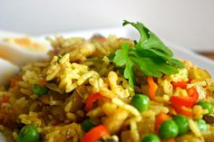 Quick Kedgeree, a perfectly Perfect Health Diet breakfast.