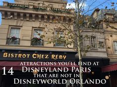 14 attractions you'll find at Disneyland Paris that are not at Disney World Orlando