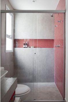 Colour belongs in every room, always. #geometric #tilestyle #tilesaddict #tilepattern #bathroominspo #bathroomdesignideas #showerthoughts #dimensions #depth #surprising #different #designinspo Style Tile, Bathroom Inspo, Tile Patterns, Tiles, Colour, Shower, Day, Painting, Room Tiles