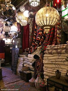 Global Style Tips from the Famous Trésor des Nomades Shop in Marrakech | http://nomadicdecorator.com