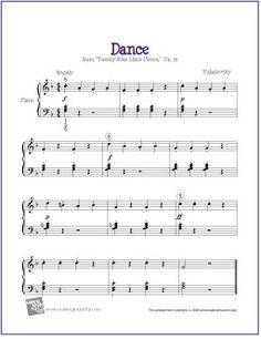 Dance (Kabalevsky)   Free Sheet Music for Easy Piano - http://makingmusicfun.net/htm/f_printit_free_printable_sheet_music/kabalevsky-dance-piano-solo.htm