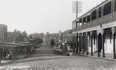 Mann St,Gosford in the Central Coast of New South Wales in Street Look, Street View, Tourist Info, Old Maps, Central Coast, Local History, Capital City, Historical Photos, The Past