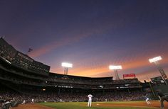 Nothing better than a summer night at the ballpark. Fenway Park at sundown in Boston.
