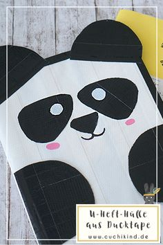 U-Heft-Hülle aus Ducktape Tape Art, Duck Tape, Diy For Kids, Cute Animals, Kids Rugs, Babys, Trends, Amazing, Blog