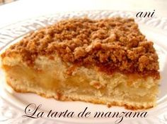 Cocina – Recetas y Consejos Apple Recipes, Sweet Recipes, Cake Recipes, Dessert Recipes, Pan Dulce, Food Cakes, Cupcake Cakes, Tortas Light, Sweet Cooking