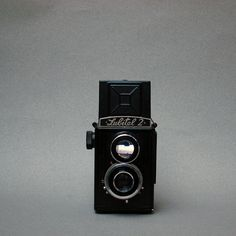Lomo Lubitel 2 Vintage Camera and Case 1958 120 by TimIrving. $110.00 USD, via Etsy.