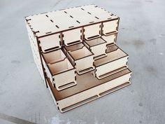 Customizable Parts Box by Mutsuki - Thingiverse