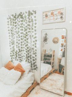 Room Design Bedroom, Room Ideas Bedroom, Bedroom Decor, Bedroom Inspo, Bedroom Furniture, Cool Dorm Rooms, Stylish Bedroom, Cozy Room, Dream Rooms