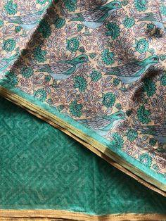 Printed art silk saree Raw Silk Saree, Silk Sarees, Designer Dresses, Art Prints, Antiques, Dress Designs, Printed, Textiles, Home Decor