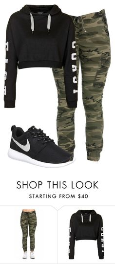 """Untitled #137"" by newyorkbae on Polyvore featuring Topshop, NIKE, women's clothing, women, female, woman, misses and juniors"