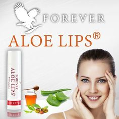 Give your lips the ultimate care of aloe, jojoba and three types of wax. Forever Aloe Lips® is designed to soothe and smooth dry, chapped lips while conditioning and protecting to ensure your lips look and feel Forever kissable. Forever Aloe Lips, Forever Living Business, Forever Living Aloe Vera, Natural Life, Natural Beauty, Dry Lips, Forever Living Products, Health And Beauty, Improve Yourself