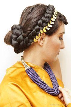 Roman Braid Hairstyle