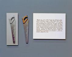 nyctaeus:  Joseph Kosuth, 'One and Three Saws', 1995