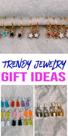 Trendy Fashion Jewelry, Trendy Accessories, Gifts For Teens, Gifts For Friends, Girls 9th Birthday, Diy Crafts For Girls, Cheap Gifts, Diy Gifts, Jewelry Gifts