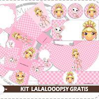 Lalaloopsy Kit for Free Print.