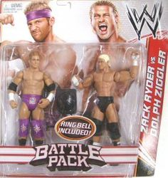 WWE Series 18 Battle Pack: Zach Ryder vs Dolph Ziggler Figure, 2-Pack