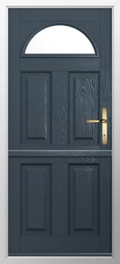 Wickes Croft External Cottage Oak Door Glazed 2032 X 813mm Wooden