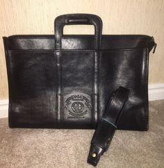 Vintage Ghurka Marley Hodgson No 34 Expediter Black Vintage Leather Briefcase (eBay Link)