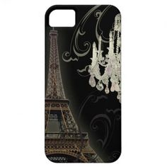 elegant paris chanelier   elegant Paris Eiffel Tower chandelier vintage iPhone 5 Covers   Zazzle ...