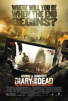Diary of the Dead (2007). A group of young film students run into real-life zombies while filming a horror movie of their own.