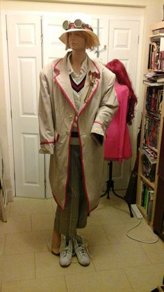 5th Doctor coat made by L. S. Day
