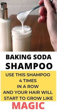 Baking soda is amazing for so many different things. It can be used as a beauty regimen, cleaning, medication, and even shampoo. In fact, baking soda shampoo is the best possible concoction to shampoo your hair with. Baking Soda Vinegar, Baking Soda Shampoo, Baking Soda Uses, Baking Soda In Hair, Baking Soda Hair Growth, Baking Soda Cleaning, Car Cleaning, Cleaning Hacks, Was Ist Soda