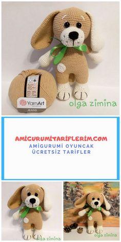 Amigurumi Köpek Puppy Yapımı – Amigurumi Tariflerim – My CMS Crochet Dolls Free Patterns, Baby Knitting Patterns, Amigurumi Patterns, Cute Crochet, Crochet Toys, Amigurumi For Beginners, Origami For Beginners, Baby Bows, New Baby Gifts