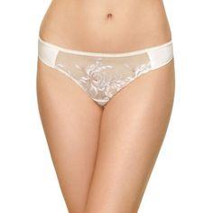 Wacoal Blush Multi Wild Seduction Thong -  842242 - Women's ($32) ❤ liked on Polyvore featuring intimates, panties, blush multi and wacoal
