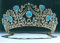 Royal Crowns, Royal Tiaras, Tiaras And Crowns, Diamond Tiara, Diamond Cuts, Antique Jewelry, Vintage Jewelry, Faberge Eier, Royal Jewelry