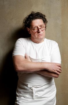 We imagine this is how Marco Pierre White would look at our late night supper of Birds Eye potato gems.