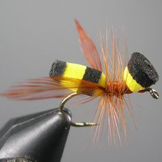 Foam Yellow Jacket by Steve Yates Little River Outfitters