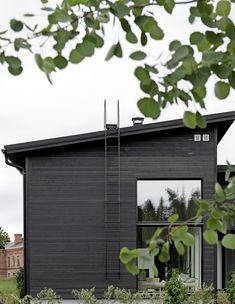 House inspiration from Deko Foto: Niclas Mäkelä Outdoor Spaces, Outdoor Decor, My House, Blinds, Singular, Interior Design, Architecture, Places, Modern