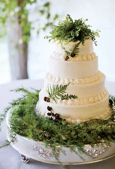 wedding cake real ferns | drinks wedding registry wedding decor flowers live wedding destination ...