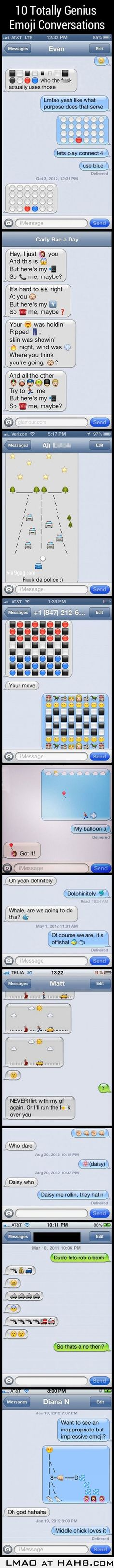 Amazing text msgs with Smilies!