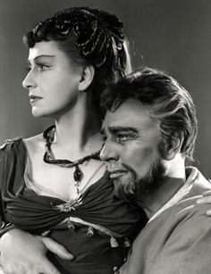 Antony and Cleopatra (1953) Michael Redgrave Peggy Ashcroft.