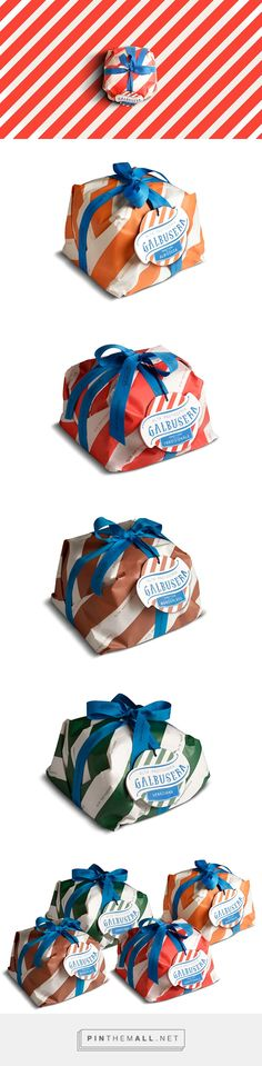 Galbusera on Behance by Isabela Sertã, London, United Kingdom curated by Packaging Diva PD. Set of 4 panettone launched for the Christmas 2013 for the Italian pastry shop Galbusera.