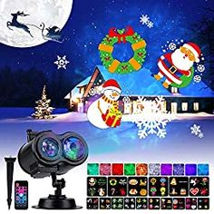 Top 10 Best Christmas Light Projectors in 2020 – Buyer's Guides & Reviews   Homelightsblog Christmas Light Projector, Best Christmas Lights, Outdoor Christmas, Christmas Fun, Outdoor Projector, Led Projector, Christmas Inflatables, Halloween News, Disco Party