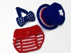 4th of July Crochet Pattern https://www.crazypatterns.net/en/items/29202/4th-of-july-crochet-pattern