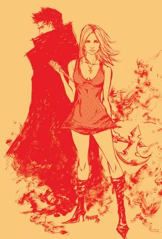 Angels tattoo angel and buffy the vampire slayer on pinterest for Buffy angel tattoo