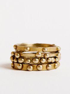 Brass Rings by Peter Hofmeister - DARA Artisans