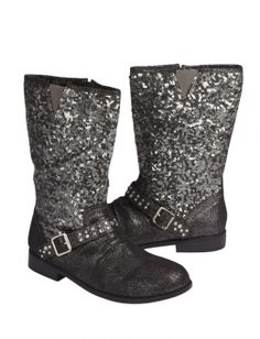 Sequin Moto Boots cute for little girls! too bad they arent in my size:(