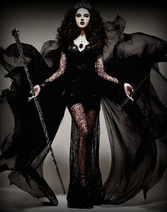 Queen Onyx after she turns evil