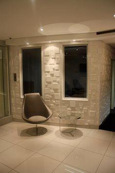 3D wall panels-squares design