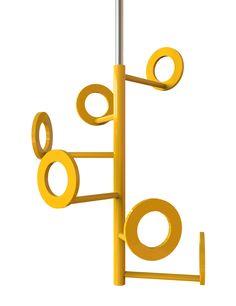 Insilvis ZERO 5, ceiling coat rack