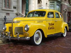 1940's Yellow Cab by Adam Wil, via Flickr