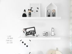 Monochrome Kids Room | Chalk Kids Blog