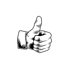 Illustration of thumbs up icon Creative Illustration, Hand Illustration, Free Illustrations, Thumbs Up Drawing, Thumbs Up Icon, Tattoo Catalog, Panda Wallpapers, Signwriting, Teacher Memes