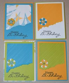 01/16 card sketch challenge - #ClubScrap cards by Barbara