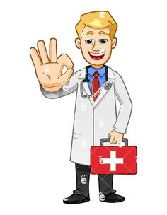 Health Professional, Medical Symbols, Vector Clipart, Vector Art, First Aid Kit, Royalty, Clip Art, Image, Free